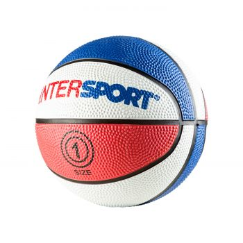 Intersport PROMO INTERSPORT MINI, košarkarska žoga, rdeča