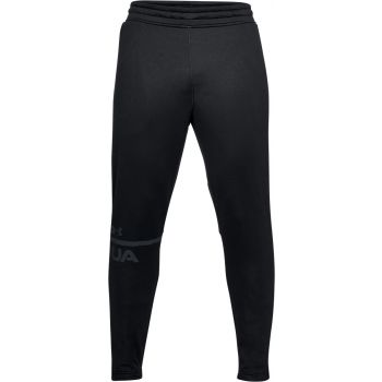 Under Armour TECH TERRY TAPERED PANT-BLK//ATH, trenirka, črna