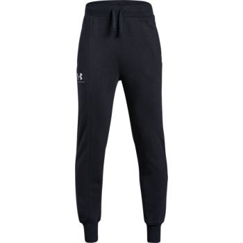 Under Armour RIVAL BLOCKED JOGGER, hlače trenirka o.fit, črna