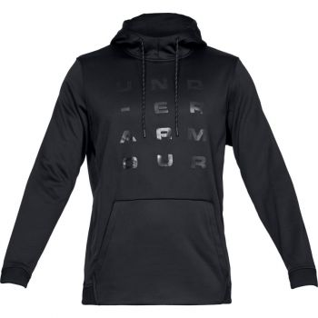 Under Armour AF TEMPO PO HOODIE, pulover m.fit, črna