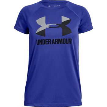 Under Armour BIG LOGO TEE SOLID SS, majice, modra
