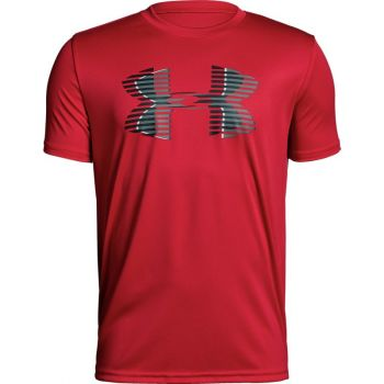 Under Armour TECH BIG LOGO SOLID TEE, majice, rdeča