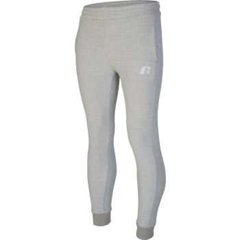 Russell Athletic EMBROIDED CUFFED PANT, moške hlače, siva