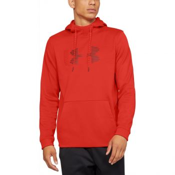 Under Armour AF SPECTRUM PO HOODIE, pulover m.fit, rdeča
