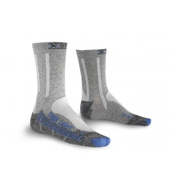 X-socks TREKKING LIGHT, nogavice ž.poh, siva