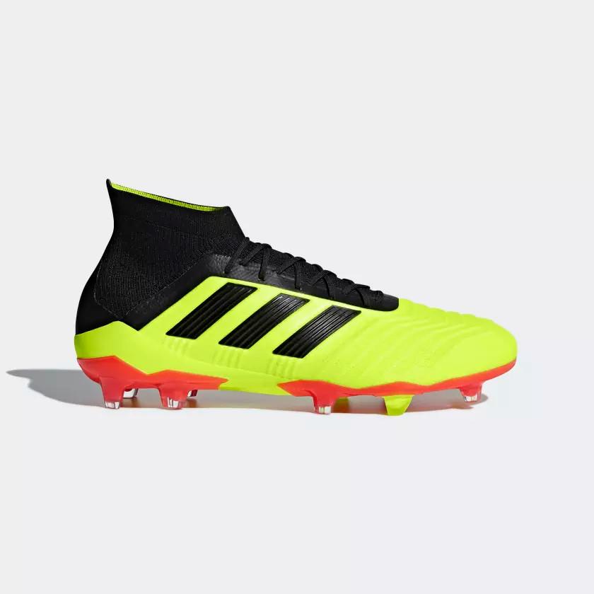 Adidas PREDATOR 18.1 FG, moški nogometni čevlji, rumena
