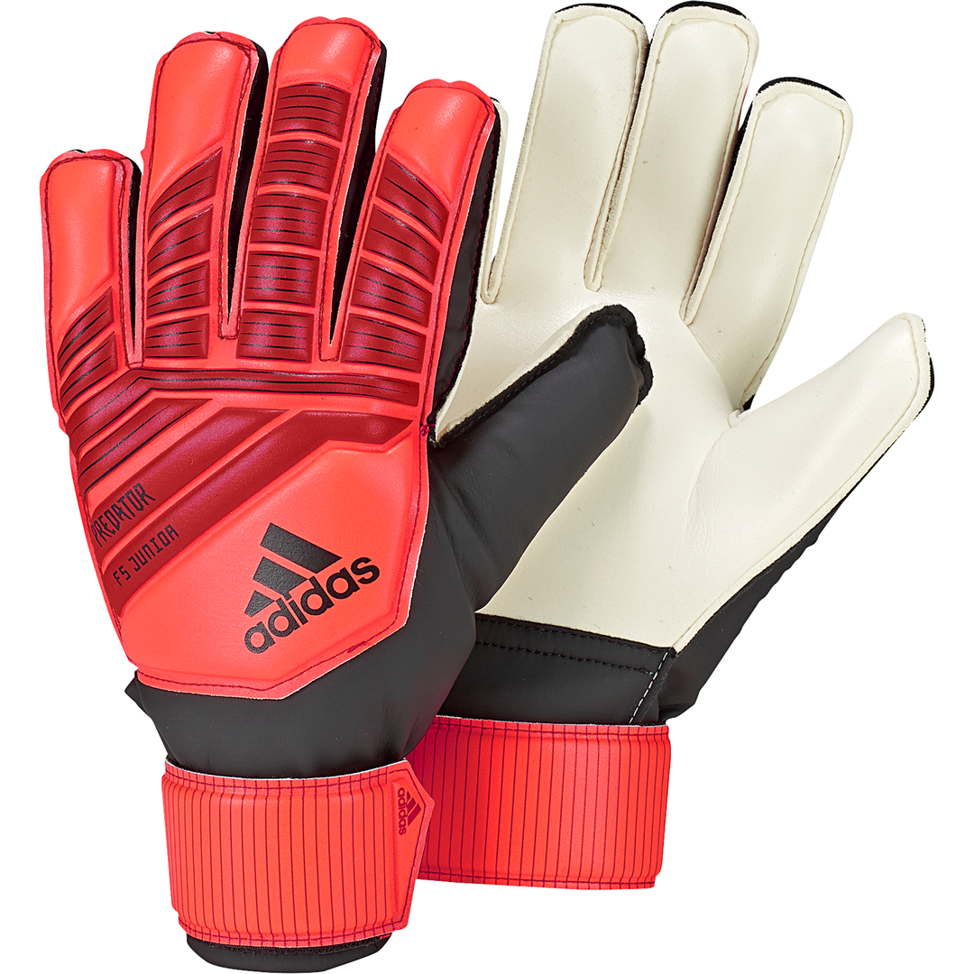 adidas PREDATOR FS JR, otroške nogometne rokavice, rdeča