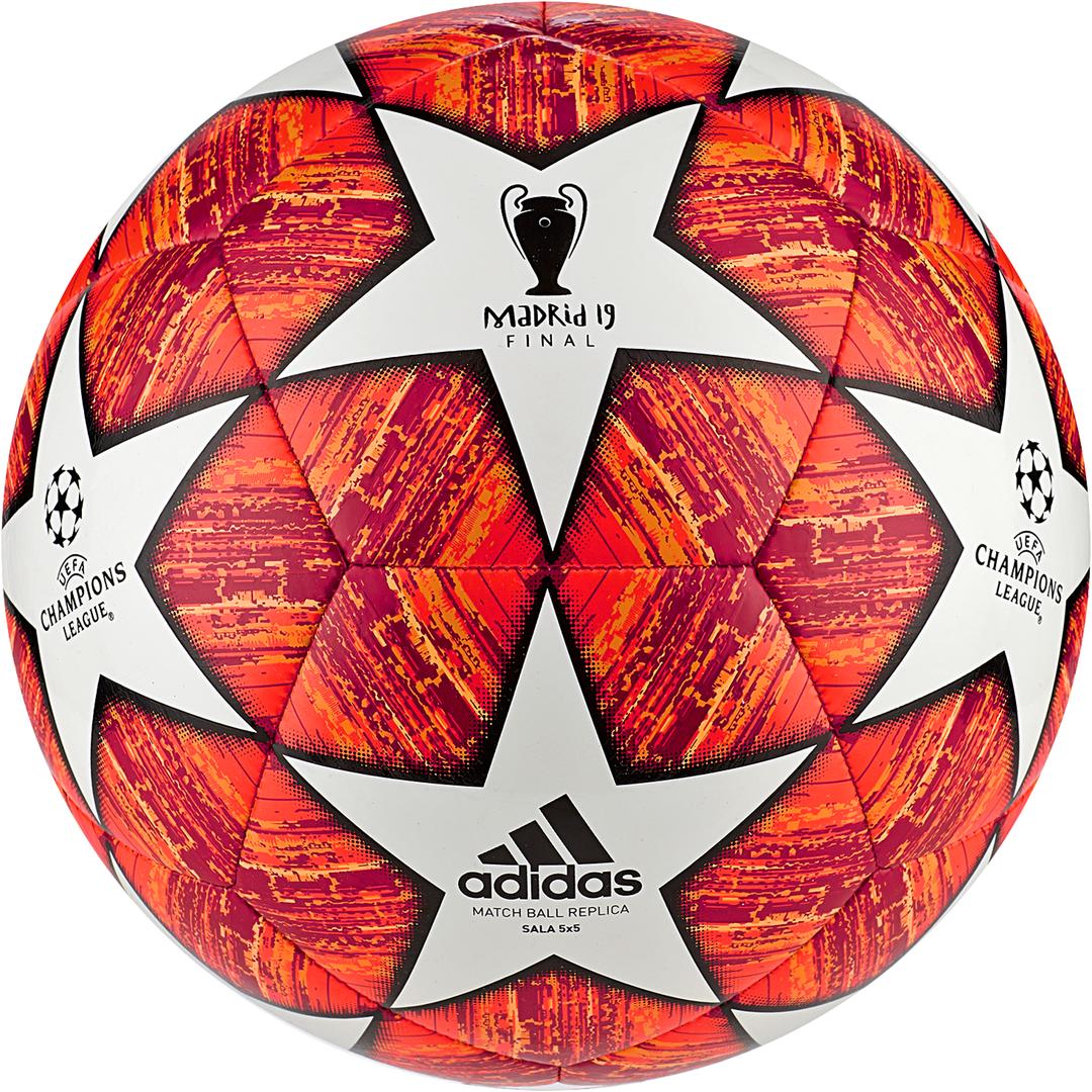 adidas FINALE M S5X5, nogometna žoga, bela
