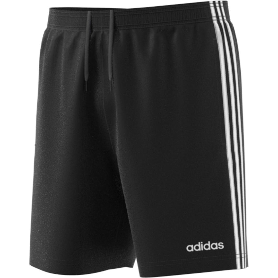 adidas E 3S CHELSEA, moške fitnes hlače, črna