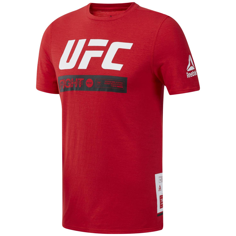Reebok UFC FG FIGHT WEEK T, maja, rdeča