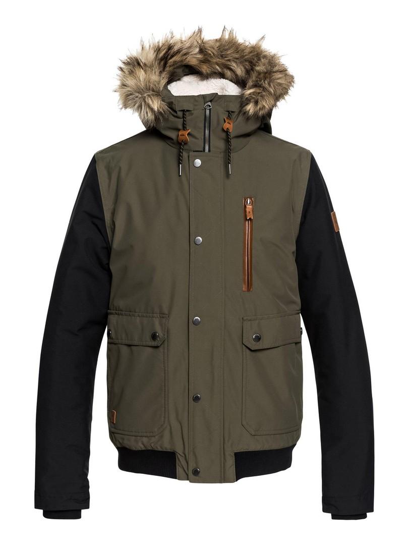 Quiksilver ARRIS JK M JCKT CRE0, moška smučarska jakna, zelena