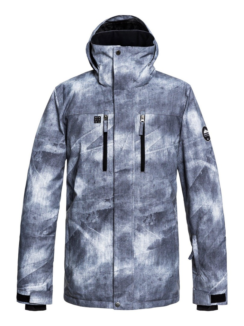 Quiksilver MISSION PR JK M SNJT KPG2, moška smučarska jakna, večbarvno