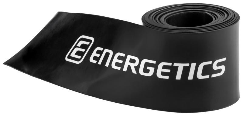 Energetics FLOSSBANDS, fitnes trak, črna