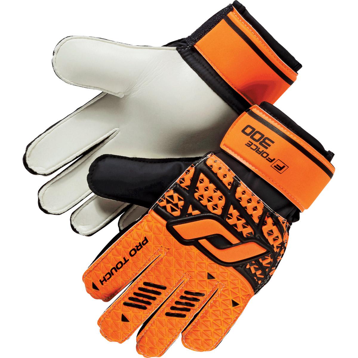 Pro Touch FORCE 300 AG, moške nogometne rokavice, oranžna