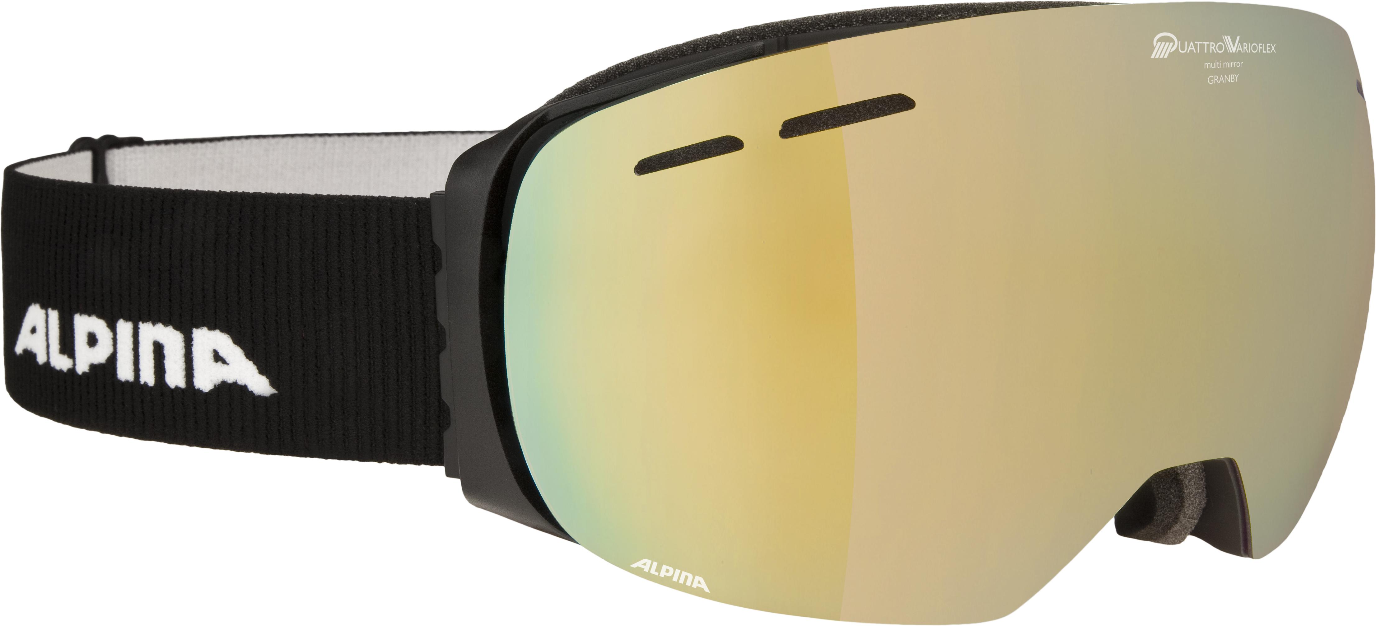 Alpina GRANBY QVMM, smučarska očala, črna