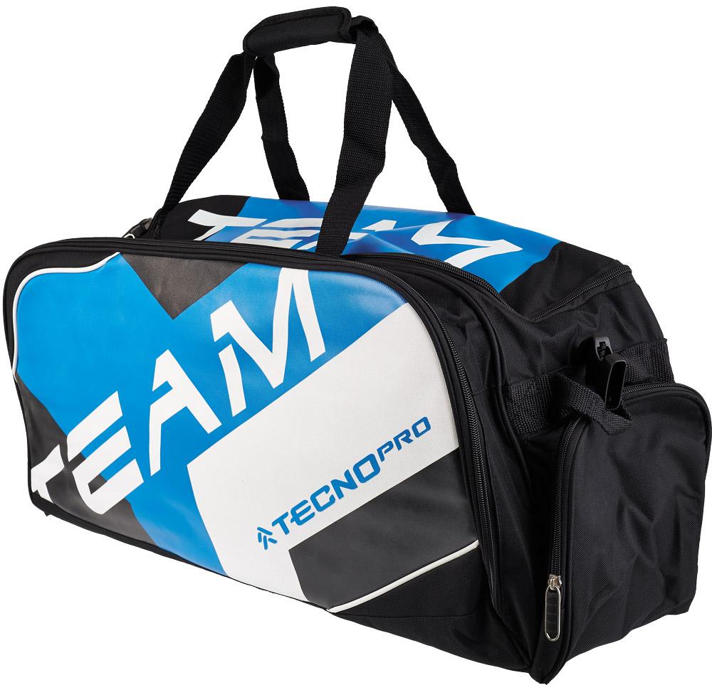 Tecnopro DUFFLE, torba za badminton, črna