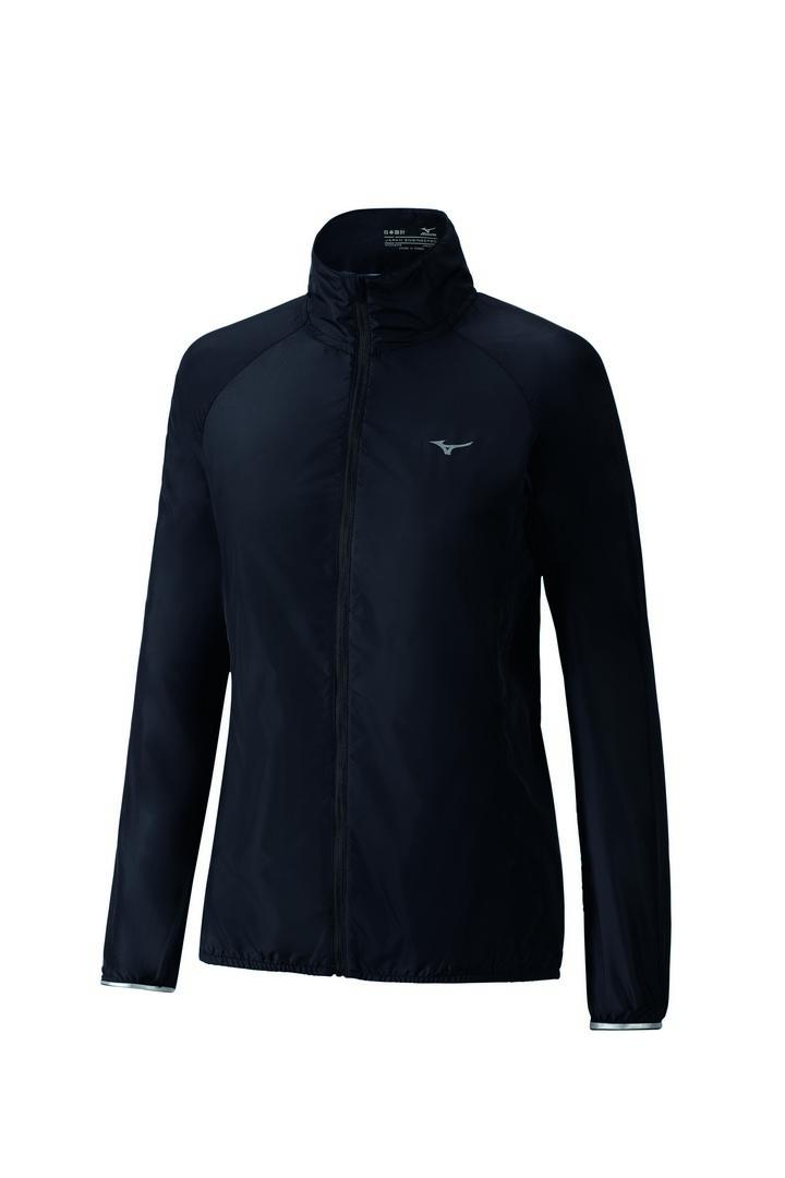Mizuno IMPULSE IMPERMALITE JACKET, ženska tekaška jakna, črna