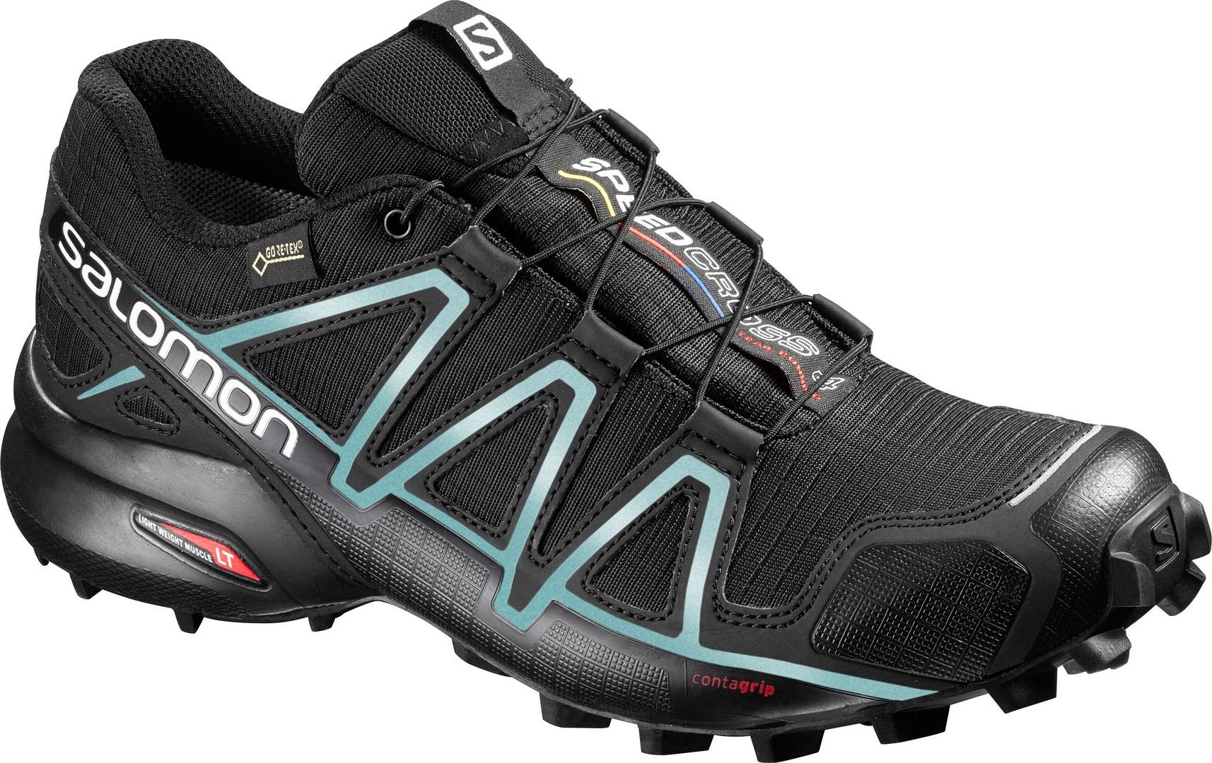 Salomon SPEEDCROSS 4 GTX® W, ženski tekaški copati, črna