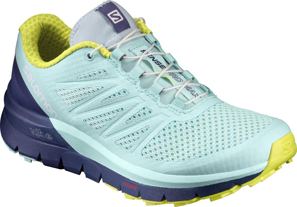 Salomon SENSE PRO MAX, ženski tekaški copati, modra