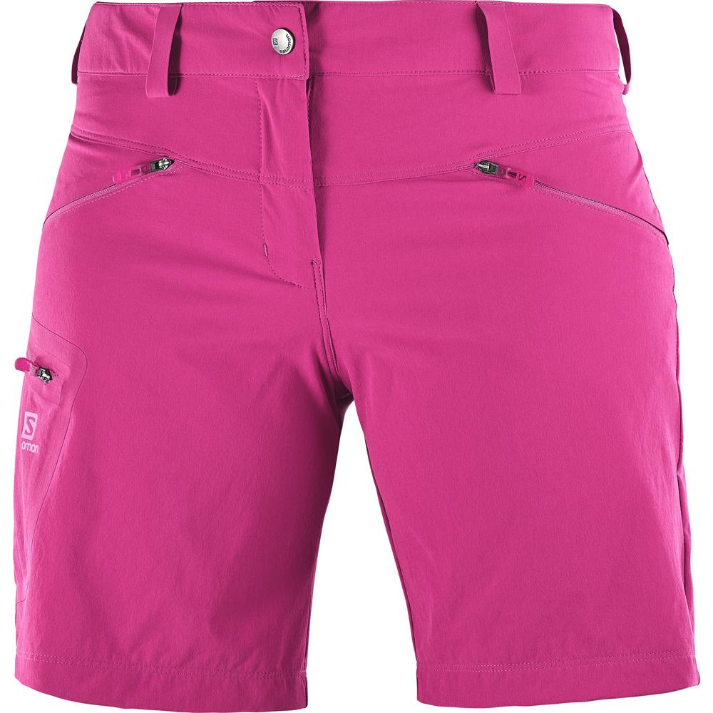 Salomon WAYFARER SHORT W, hlače, roza
