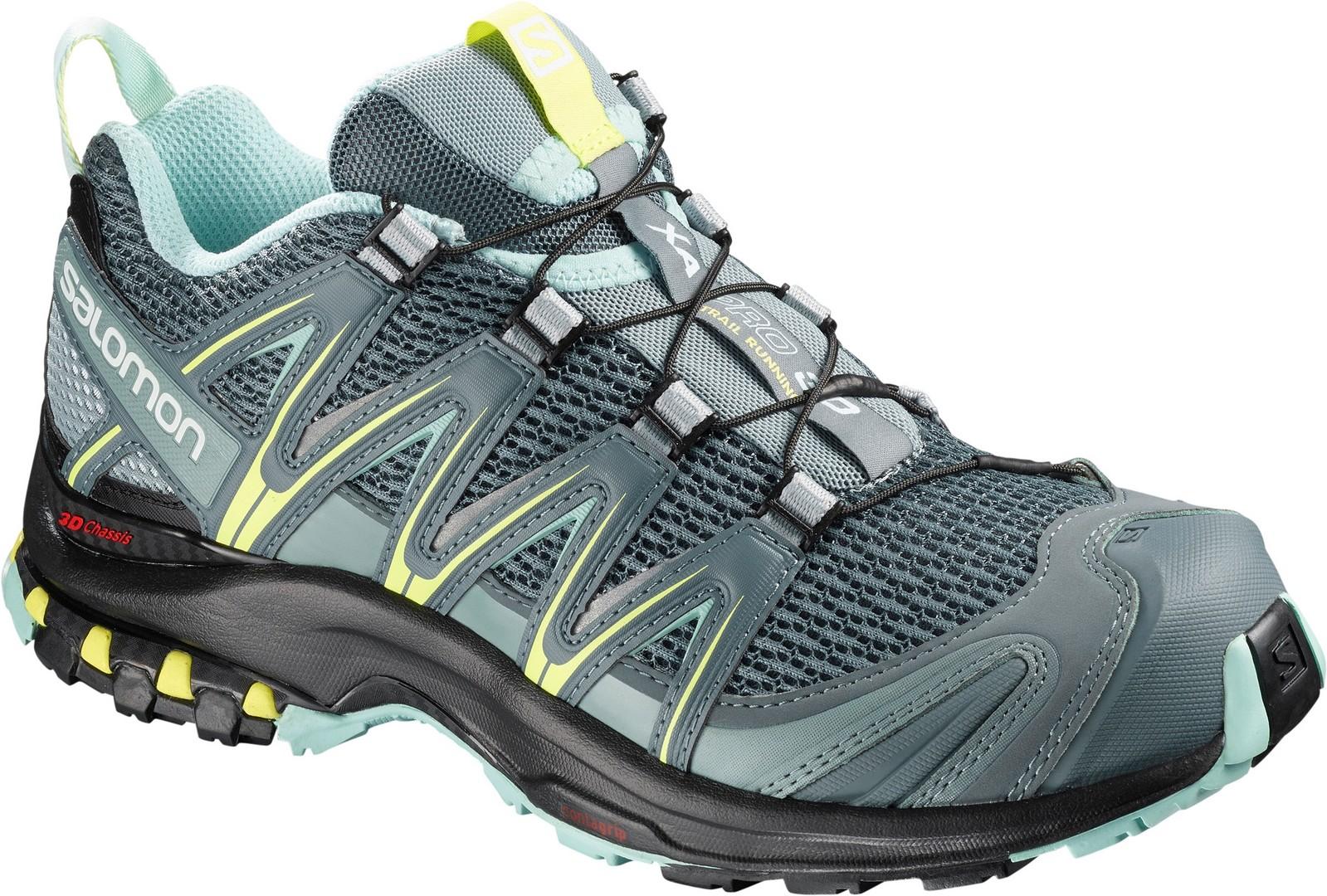 Salomon XA PRO 3D W, ženski tekaški copati, zelena