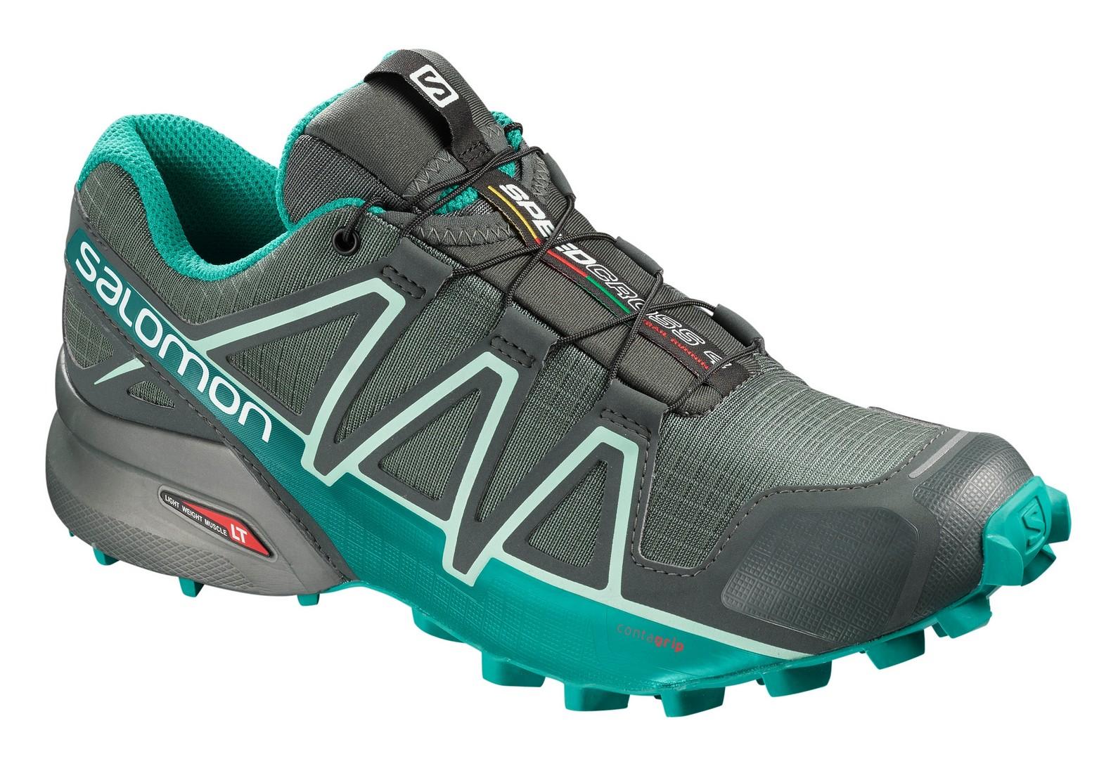 Salomon SPEEDCROSS 4 GTX® W, ženski tekaški copati, zelena