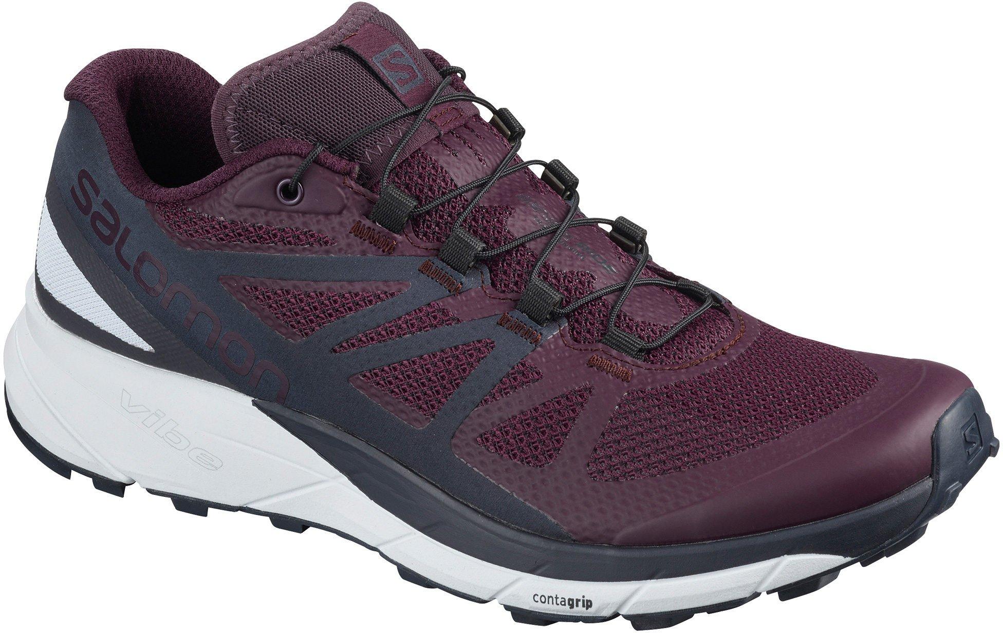 Salomon SENSE RIDE W, ženski tekaški copati, vijolična
