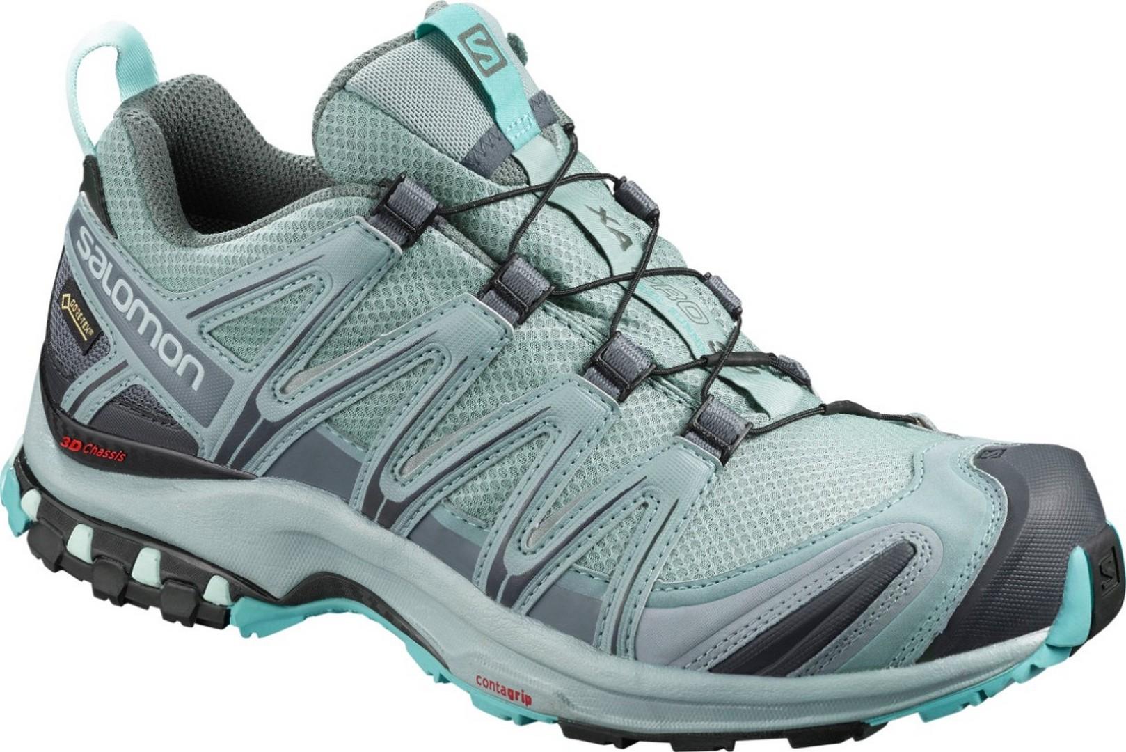 Salomon XA PRO 3D GTX W, ženski tekaški copati, zelena
