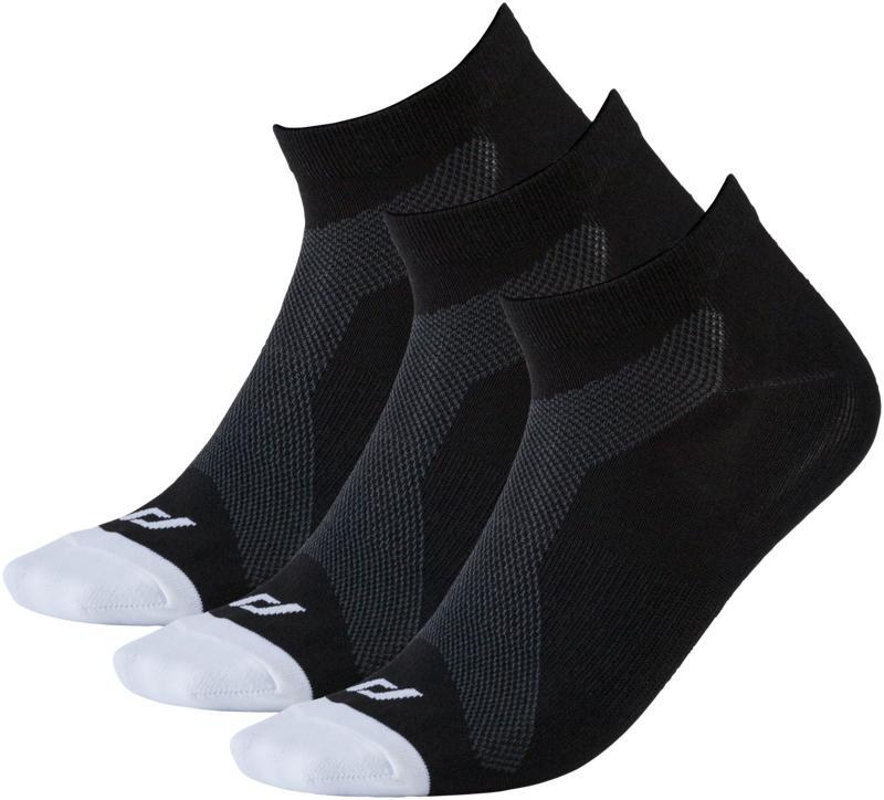 Pro Touch LAKIS UX 3-PCK, moške tekaške nogavice, črna