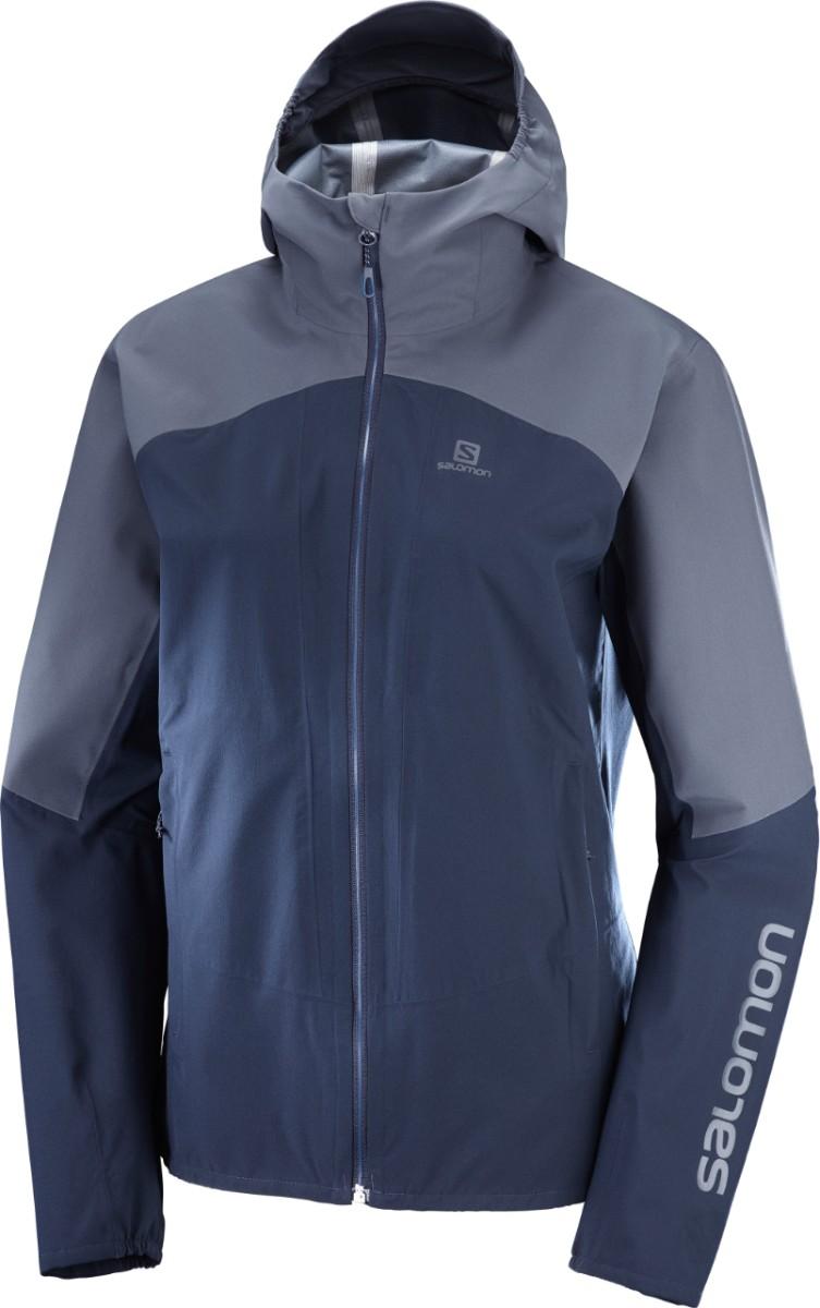 Salomon OUTLINE JKT, ženska pohodna jakna, modra