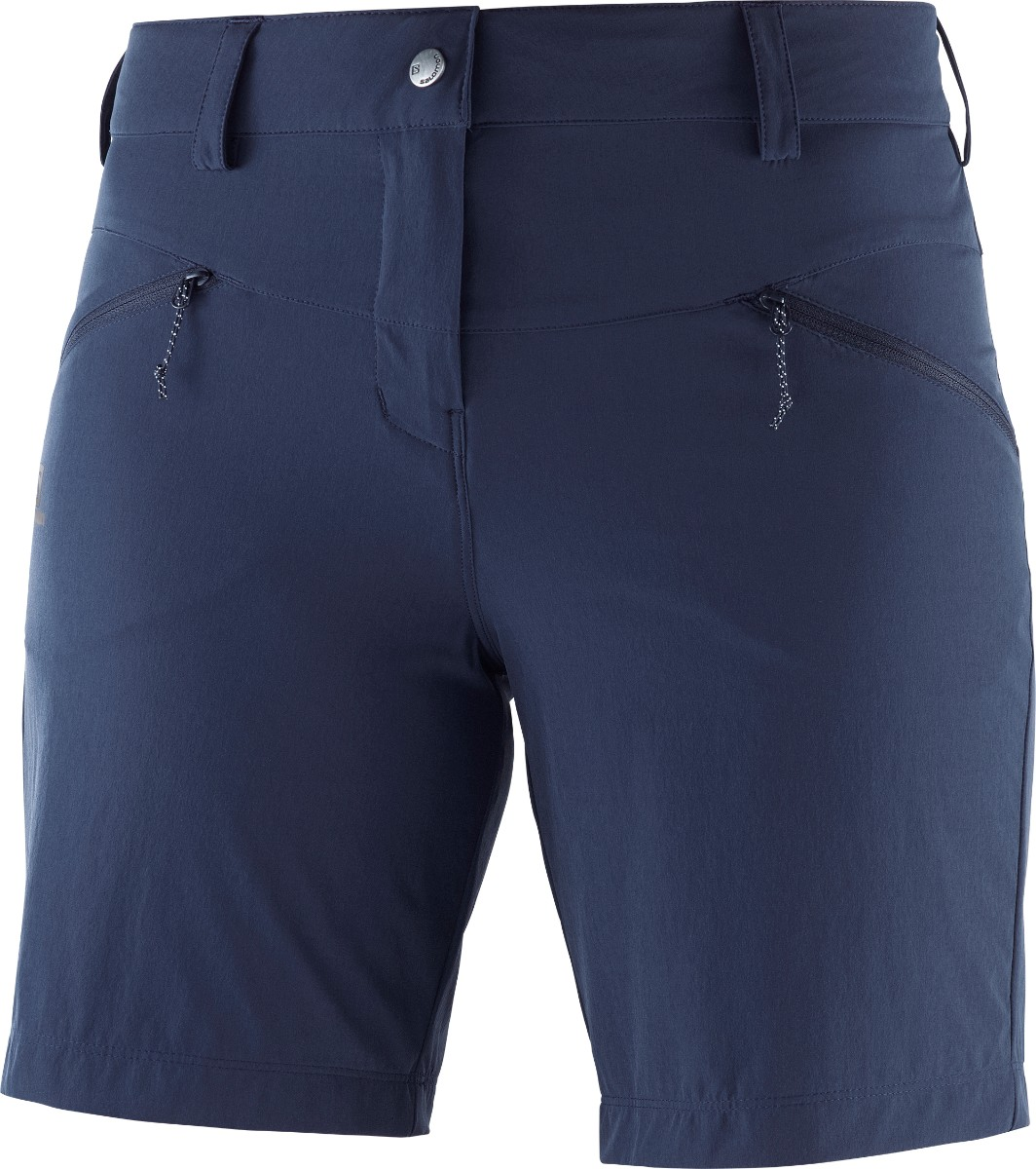 Salomon WAYFARER LT SHORT, hlače, modra