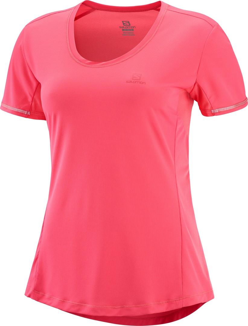 Salomon AGILE SS TEE W, ženska tekaška majica, roza