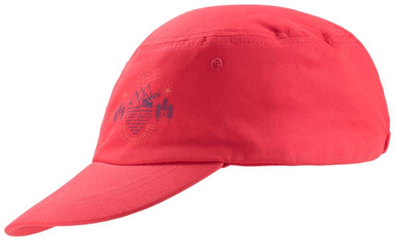 McKinley MATTEO II JRS, kapa o.poh ščit, rdeča