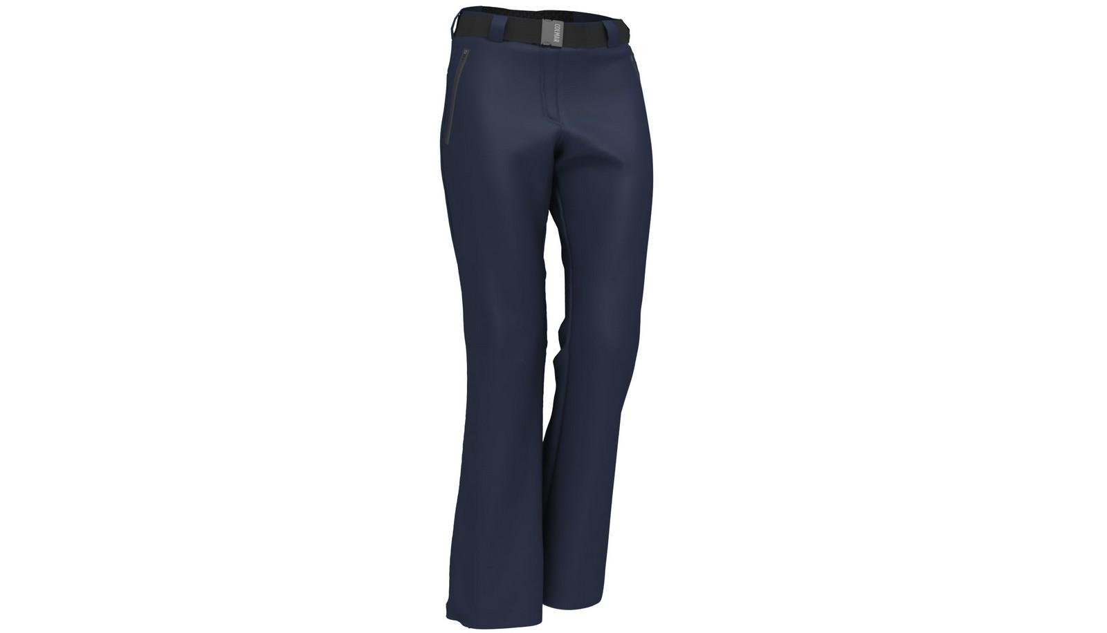Colmar 1DF - PANTALONI SINTETICI DONNA, ženske smučarske hlače, modra