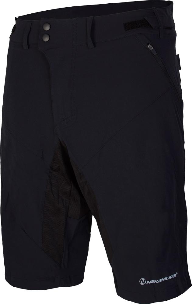 Nakamura GRAVEL, moške hlače, črna