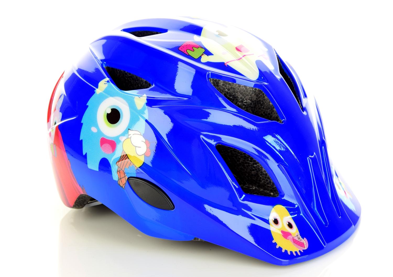 Nakamura KS 15, otroška kolesarska čelada, modra