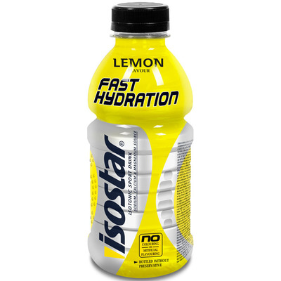 Isostar FAST HYDRATION LEMON 0,5L, športna prehrana, večbarvno