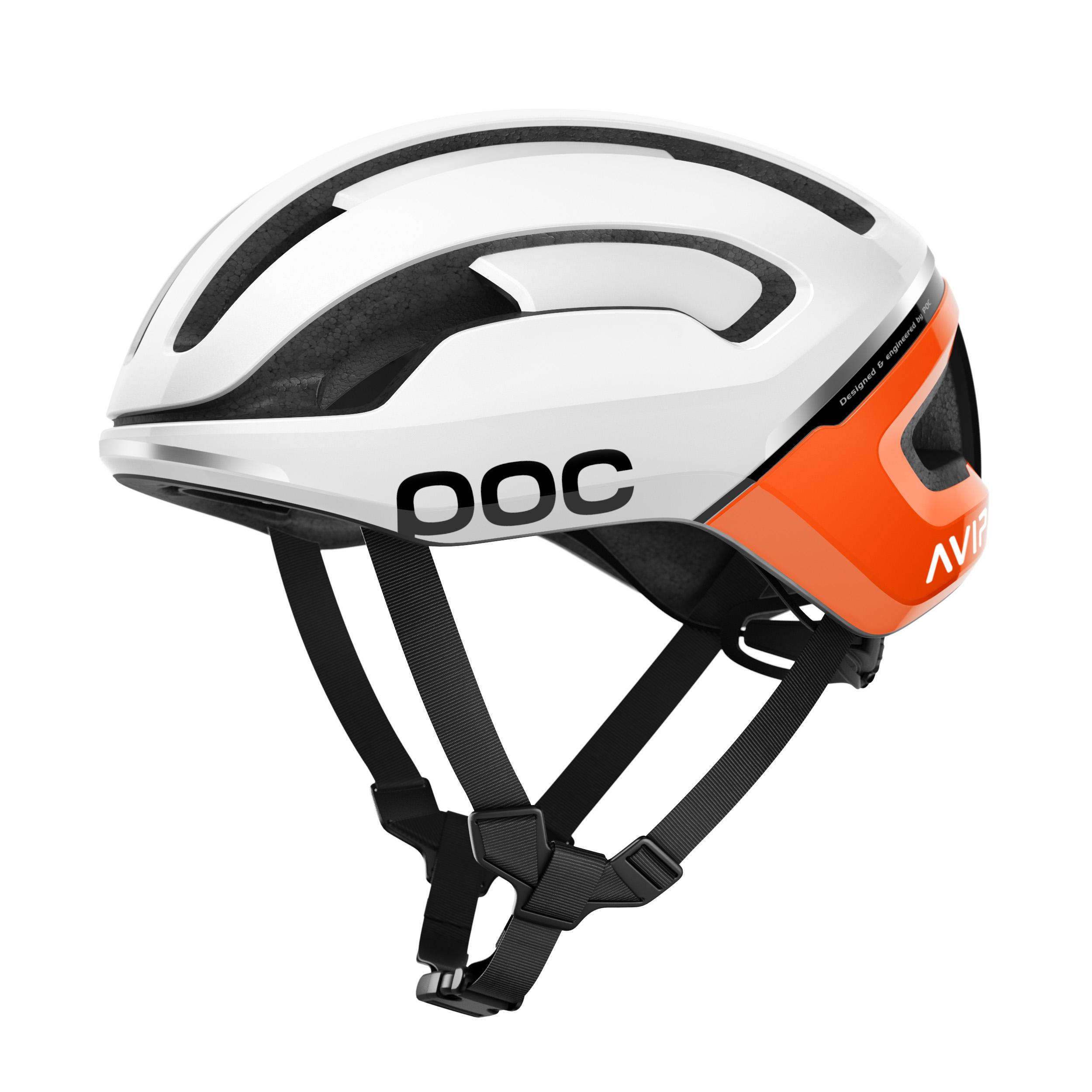 Poc OMNE AIR SPIN, kolesarska čelada, bela