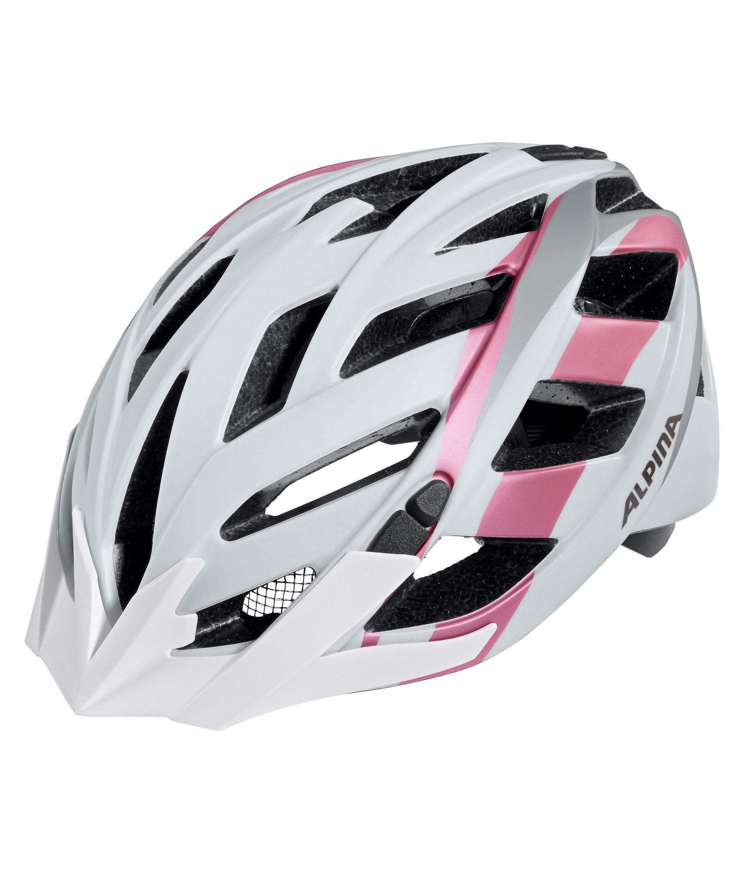 Alpina PANOMA L.E., kolesarska čelada, bela