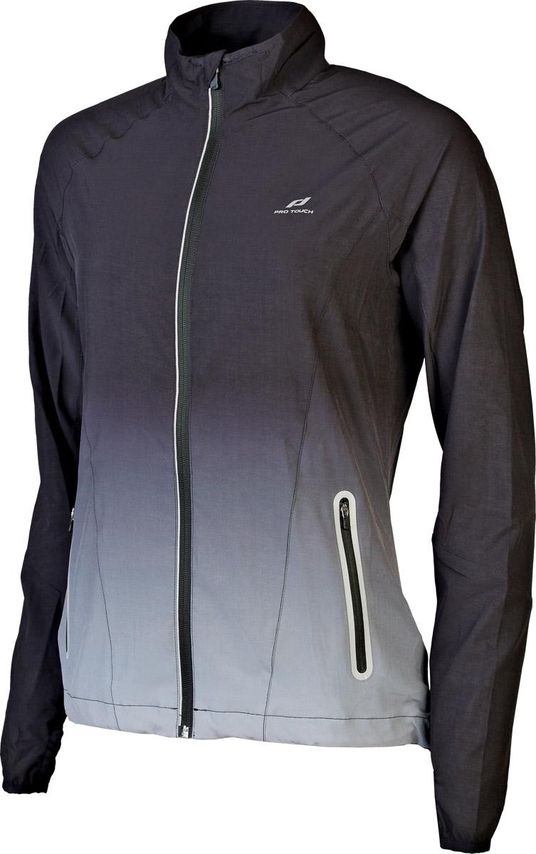 Pro Touch JAUSA WMS, ženska tekaška jakna, črna