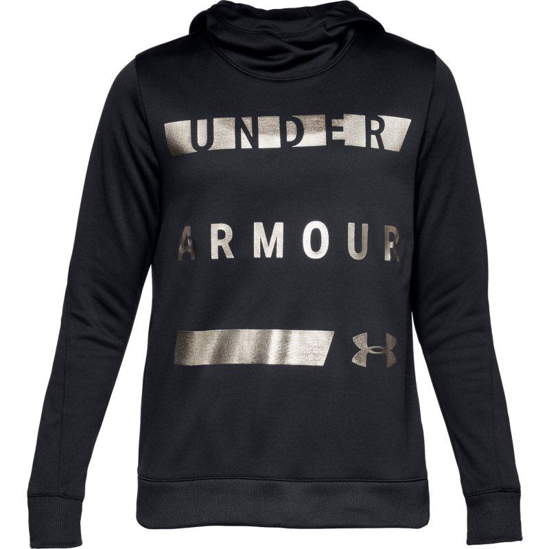 Under Armour SYNTHETIC FLEECE PULLOVER WM, majice, črna