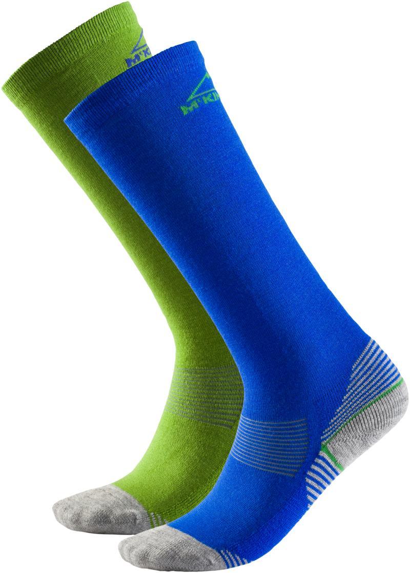 McKinley ROB JRS 2-PACK MCK, otroške smučarske nogavice, modra