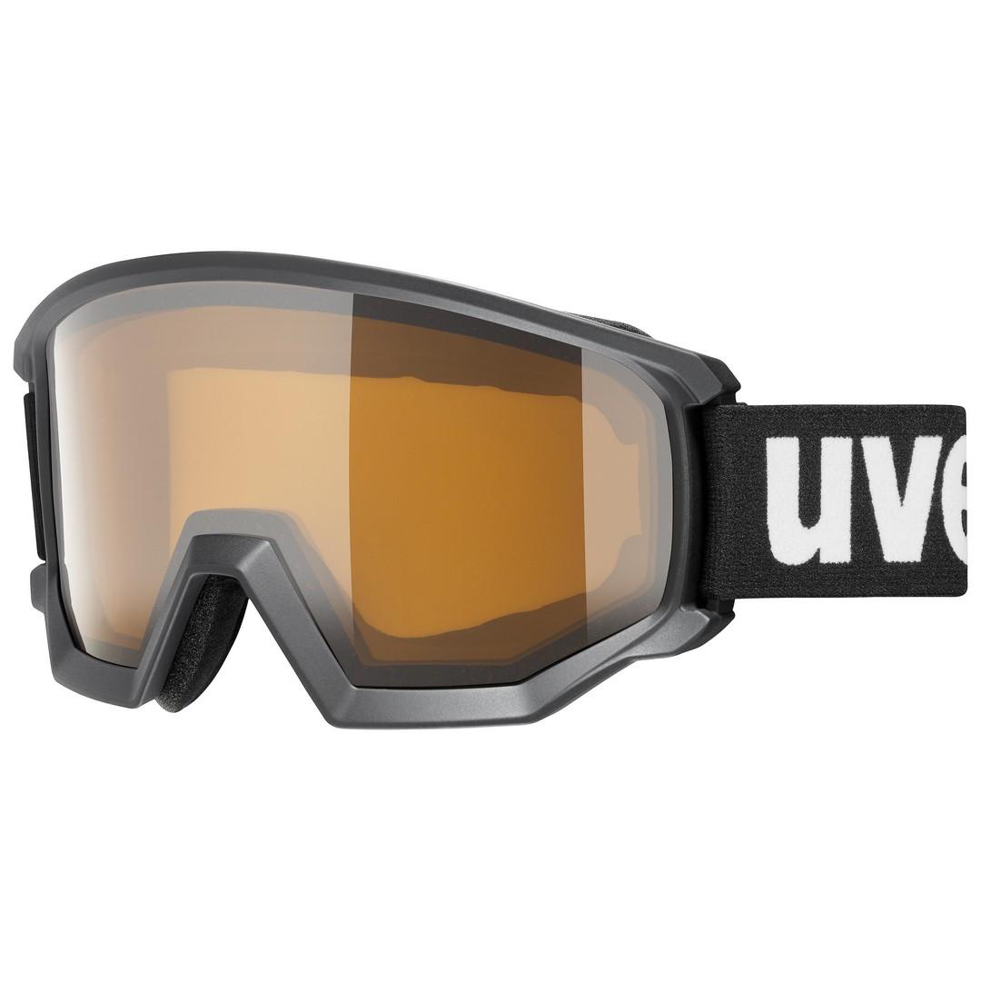 Uvex ATHLETIC POLA, smučarska očala, črna