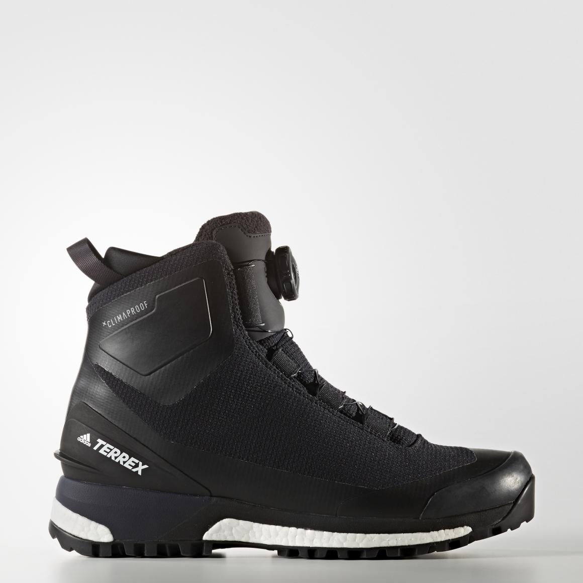 Adidas TERREX CONRAX BOA C CBLACK/FTWWHT/ENERGY, pohodni čevlji, črna