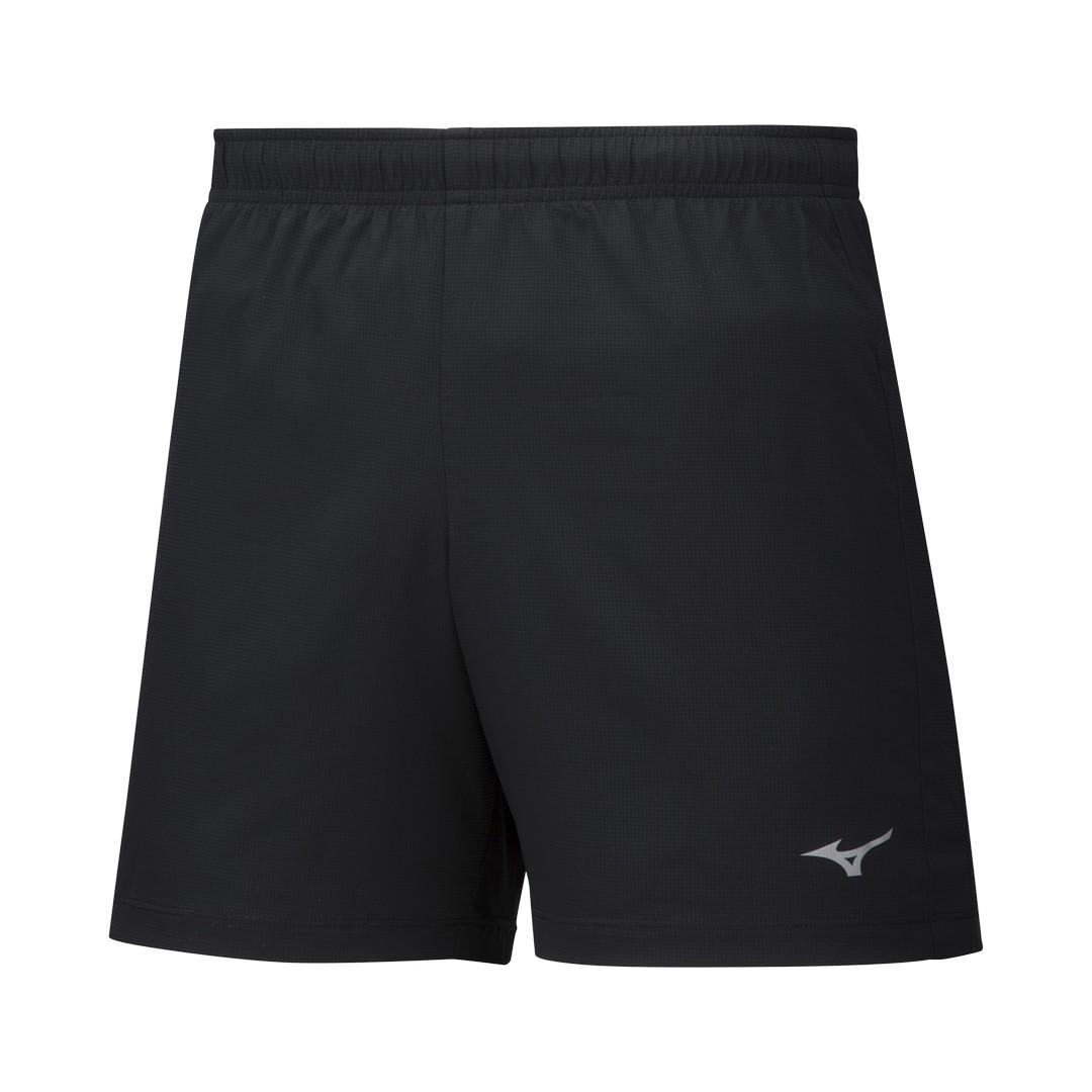 Mizuno IMPULSE CORE 5.5 SHORT, moške kratke tekaške hlače, črna