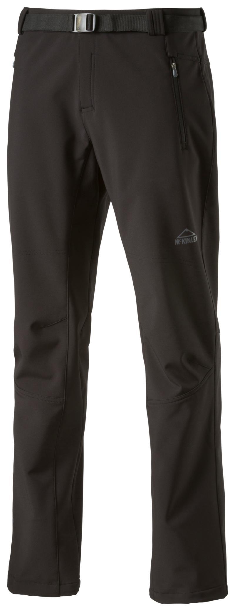 McKinley SHALDA MEN, moške pohodne hlače, črna