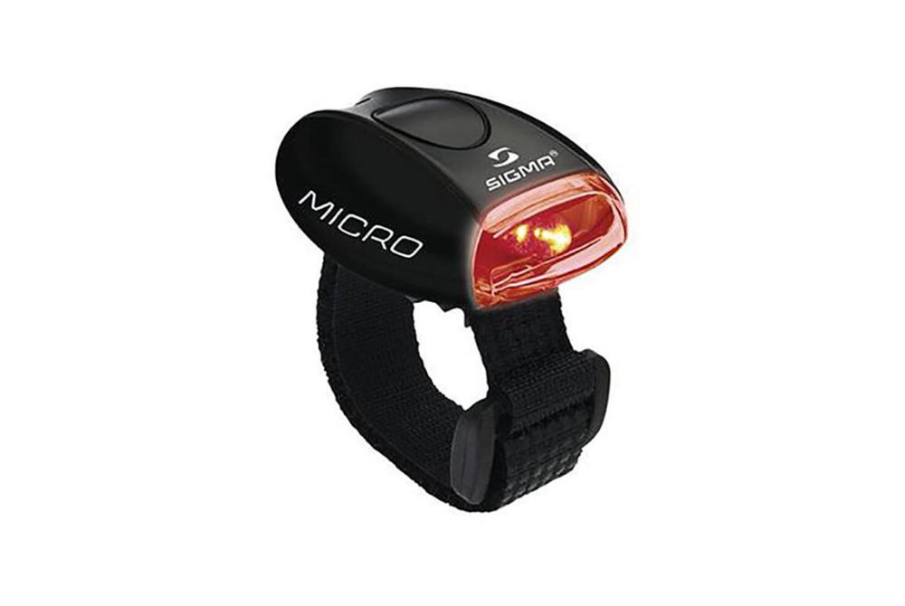 Sigma MICRO, kolesarska svetilka, črna