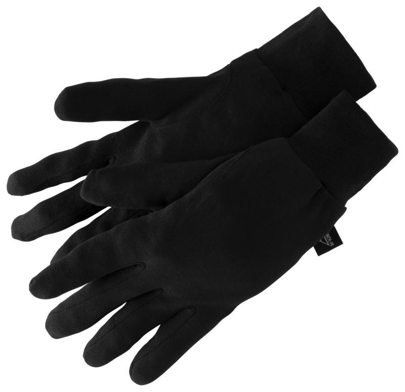 McKinley SILK GLOVE, rokavice ž.poh, črna