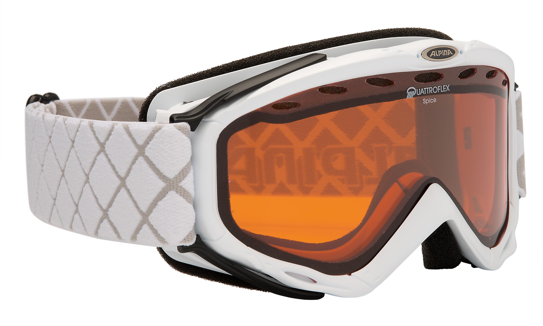 Alpina SPICE QLH, smučarska očala, bela