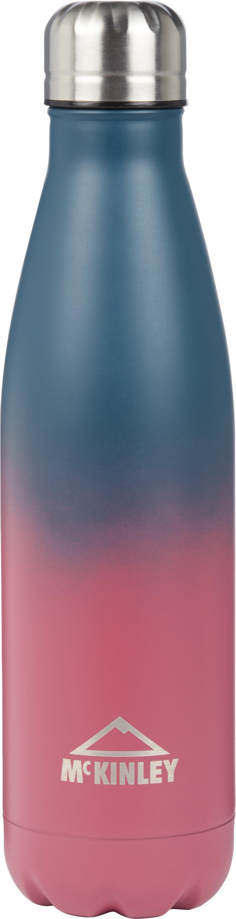 McKinley STAINLESS STEEL DOUBLE 0,5L ROCKET, steklenica, modra